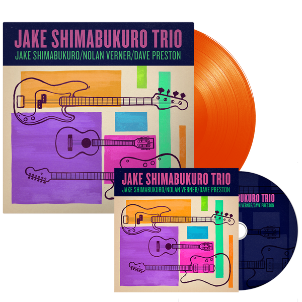 Jake Trio CD and Vinyl Bundle