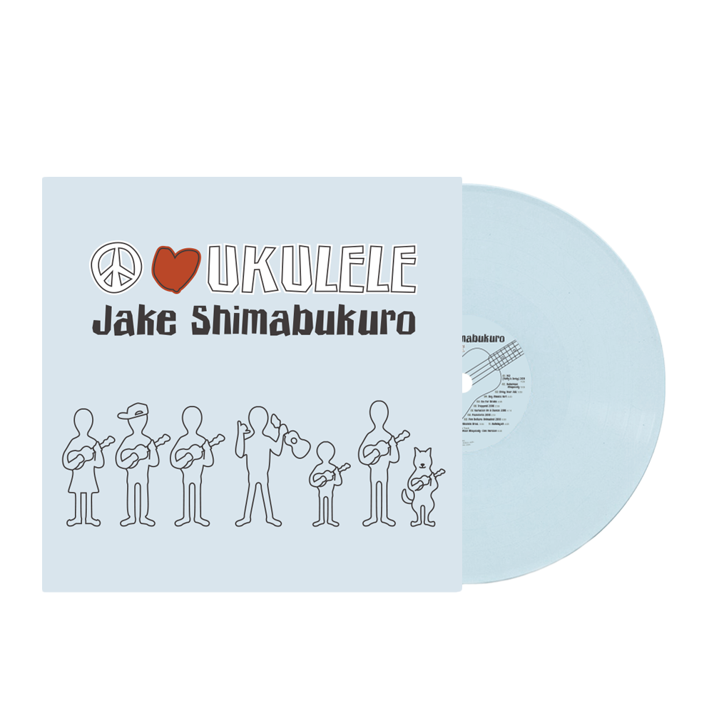 PRE-ORDER! Peace Love Ukulele Limited Edition Reissue Vinyl
