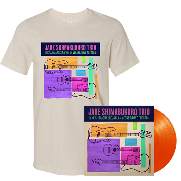 Jake Trio Vinyl and T-shirt Bundle