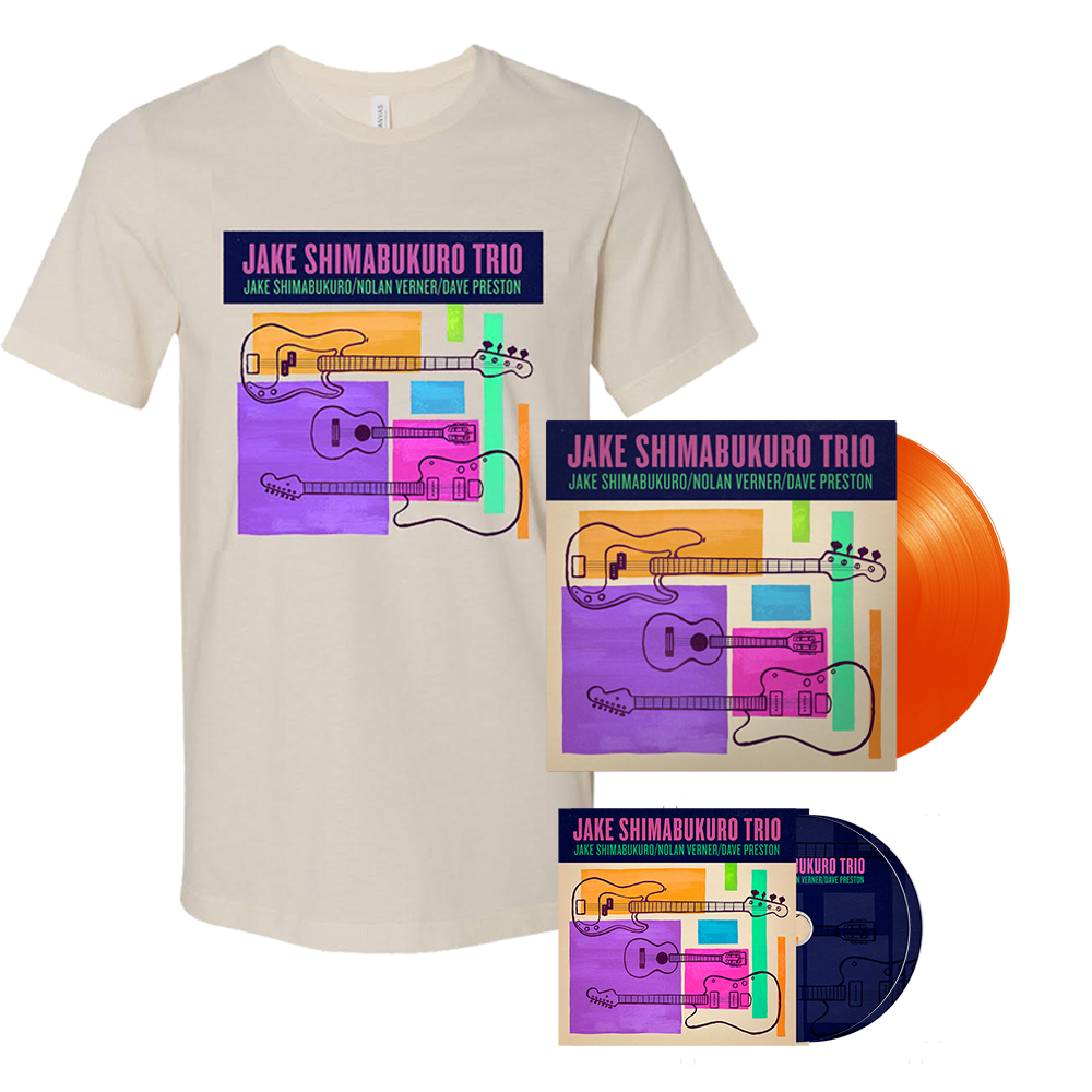 BUNDLE! Trio Vinyl + CD + T-Shirt