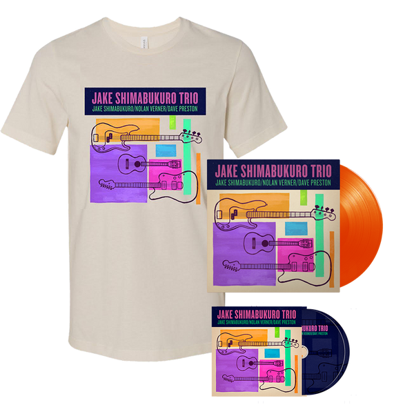 Jake Trio CD, Vinyl and T-shirt Bundle - PRE-ORDER