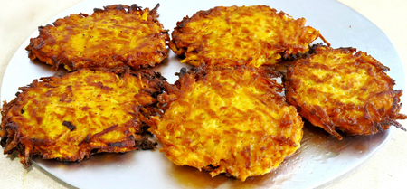 Extra Crispy Sweet Potato Hashbrowns (Vegan)