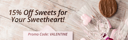 15% Off Sweets for Your Sweetheart!