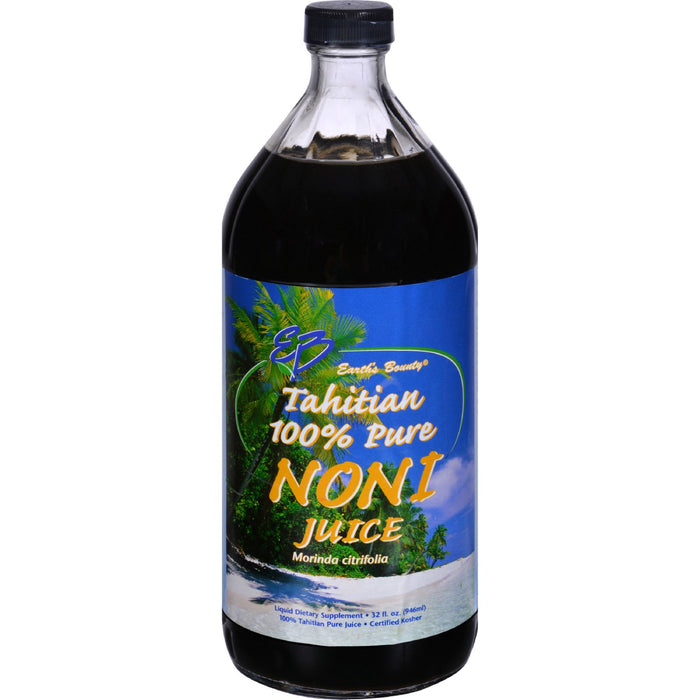 Earth's Bounty Tahitian Pure Noni Juice - 32 fl oz