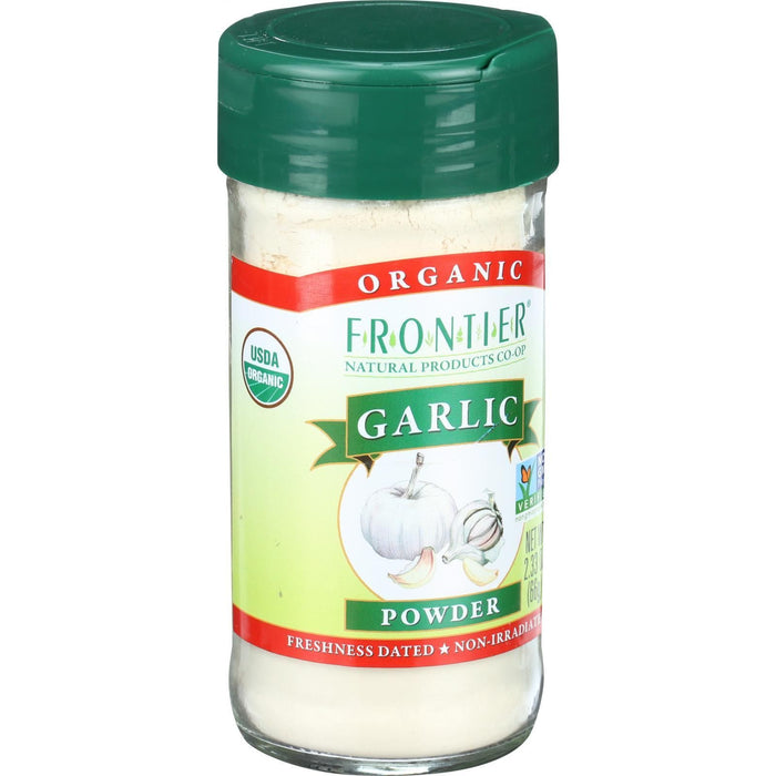 Frontier Herb Garlic - Organic - Powder - 2.33 oz
