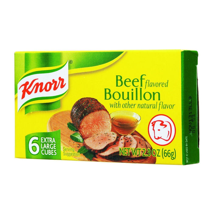 Knorr Bouillon Cubes - Beef - Extra Large - 2.3 Oz - Case Of 24