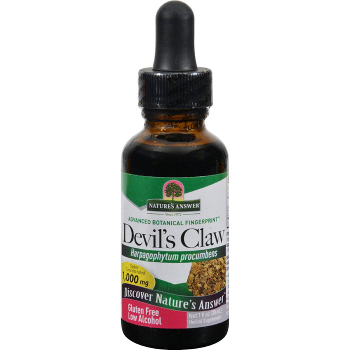 Nature's Answer Devil's Claw Root - 1 Fl Oz