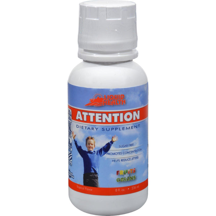 Liquid Health Attention - 8 Fl Oz