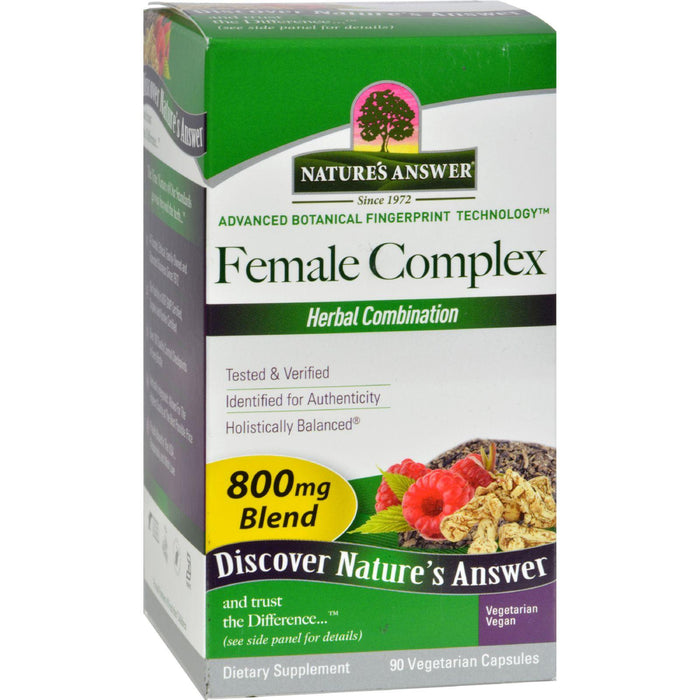Nature's Answer Female Complex - 90 Vcaps