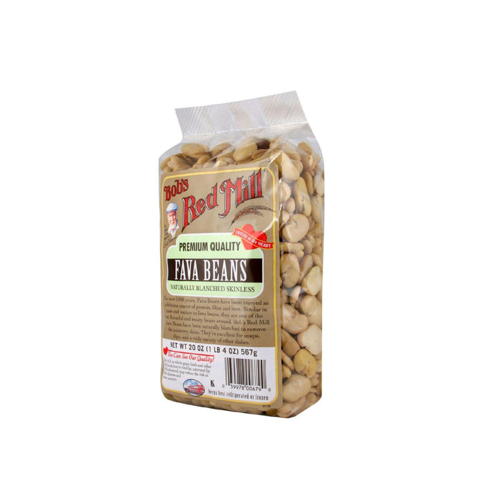 Bob's Red Mill Fava Beans - 20 Oz - Case Of 4