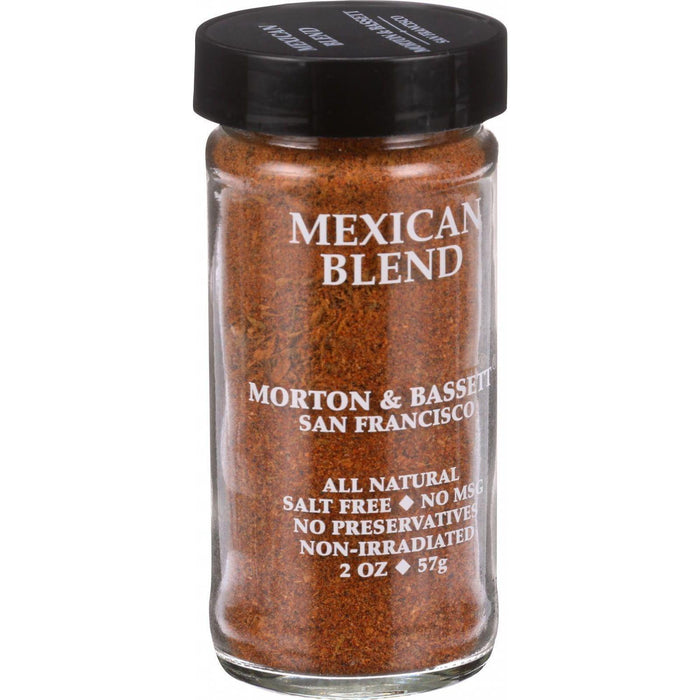 Morton And Bassett Seasoning - Mexican Spice Blend - 2 Oz - Case Of 3