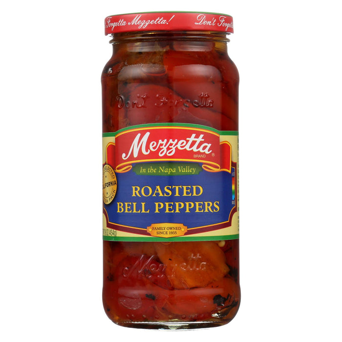 Mezzetta Roasted Bell Peppers - Case Of 6 - 16 Oz.