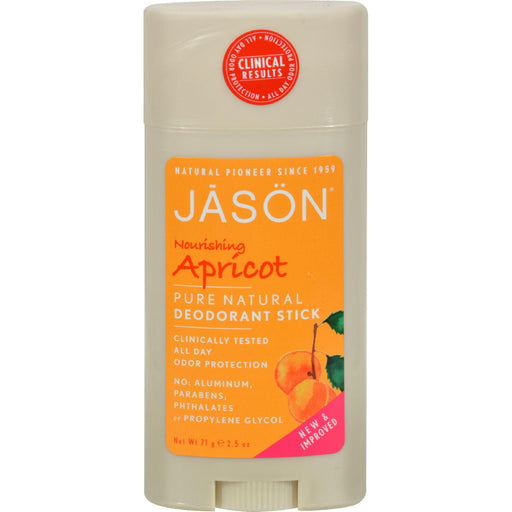 Jason Deodorant Stick Nourishing Apricot - 2.5 Oz