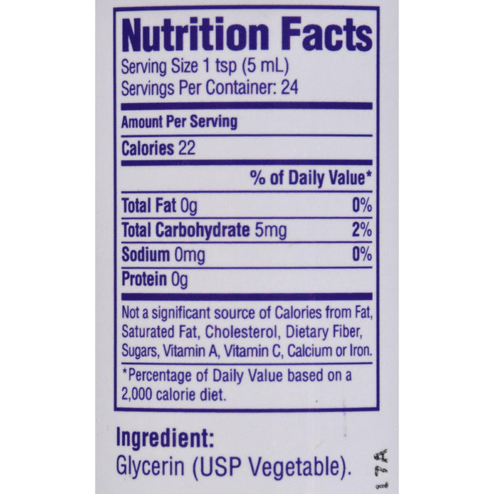 Heritage Products Vegetable Glycerin - 4 Fl Oz