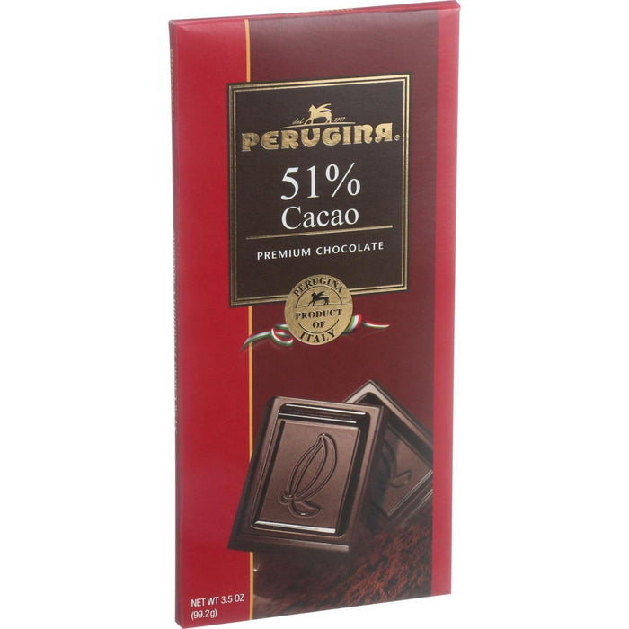 Perugina Chocolate Bar - Dark Chocolate - 3.5 Oz Bars - Case Of 12