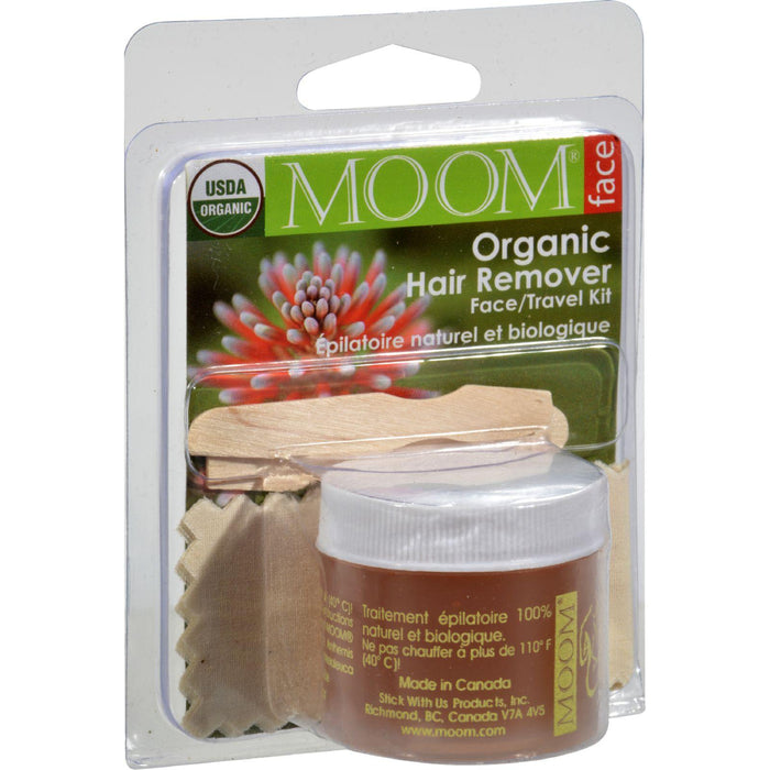 Moom Organic Hair Remover Mini Kit - 1 Kit