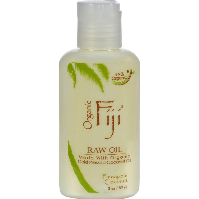 Organic Fiji Virgin Coconut Oil Pineapple - 3 Fl Oz