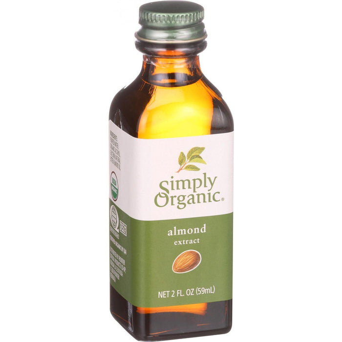 Simply Organic Almond Extract - Organic - 2 Oz