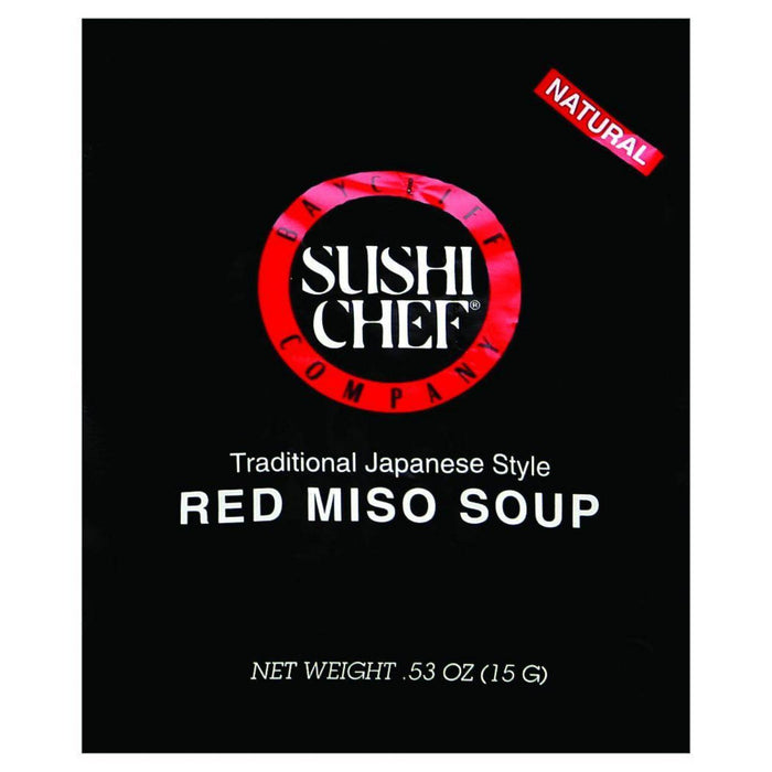 Sushi Chef Soup Mix - Miso Red - .53 Oz - Case Of 12
