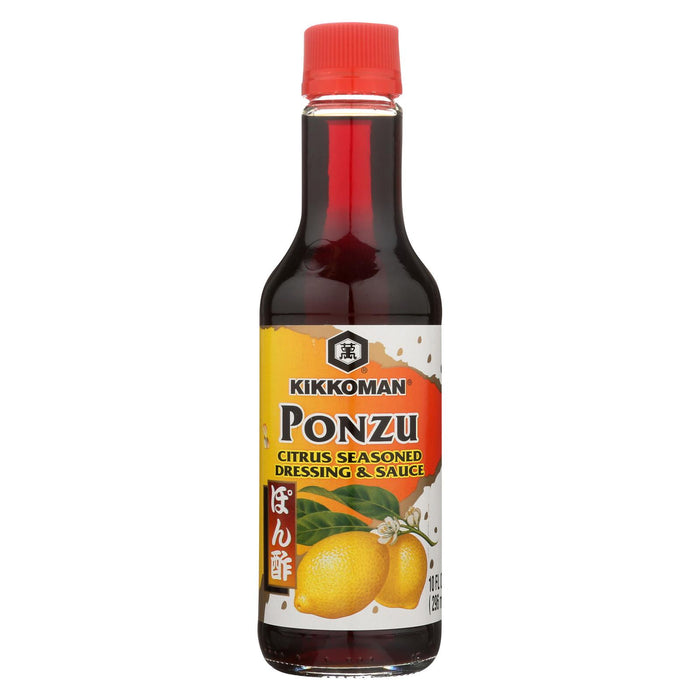 Kikkoman Ponzu - Citrus - Case Of 12 - 10 Fl Oz.