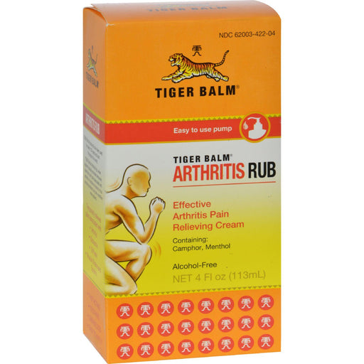 Tiger Balm Arthritis Rub - 4 Fl Oz