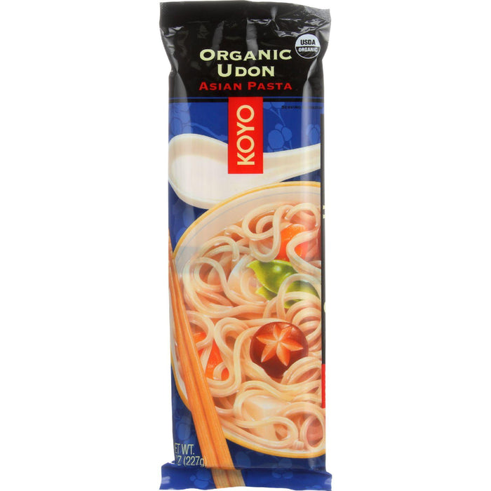 Koyo Pasta - Organic - Udon - 8 Oz - Case Of 12