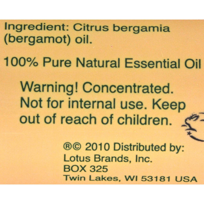 Nature's Alchemy 100% Pure Essential Oil Bergamot - 0.5 Fl Oz