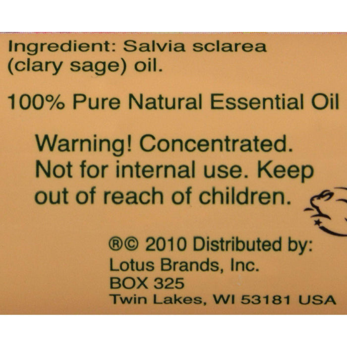Nature's Alchemy 100% Pure Essential Oil Clary Sage - 0.5 Fl Oz