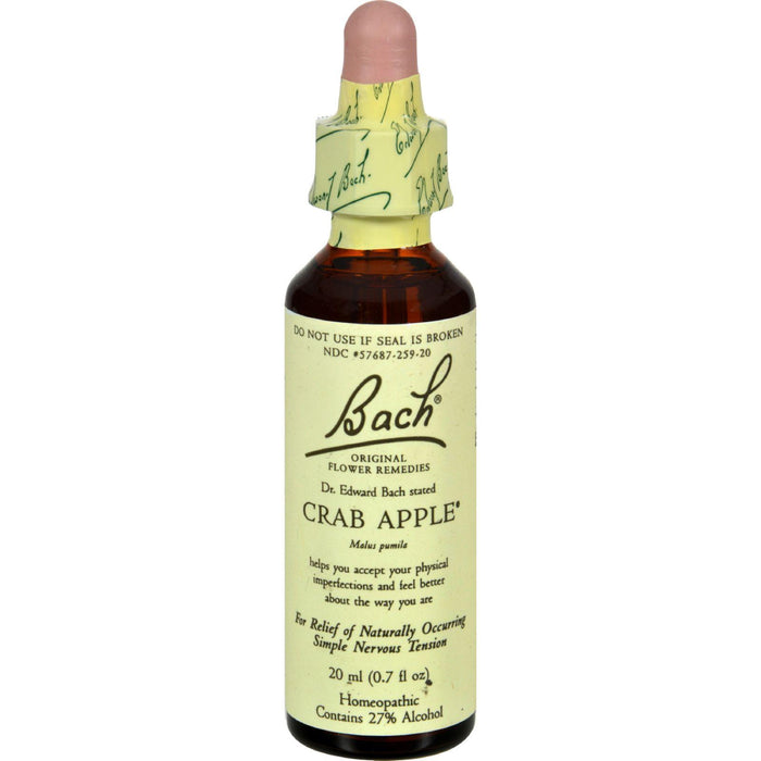 Bach Flower Remedies Essence Crab Apple - 0.7 Fl Oz