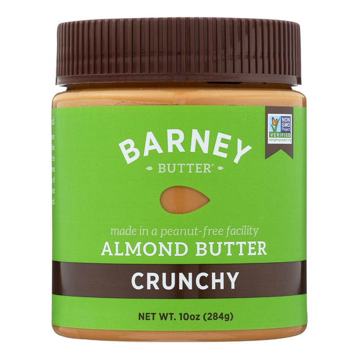 Barney Butter Almond Butter - Crunchy - Case Of 6 - 10 Oz.