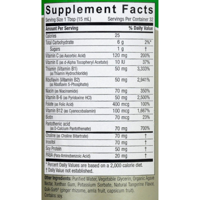 Nature's Answer Liquid Vitamin B-complex - 16 Fl Oz