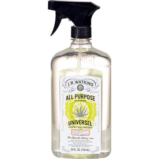 J.r. Watkins Natural All Purpose Cleaner Aloe And Green Tea - 24 Fl Oz