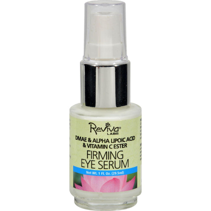 Reviva Labs Firming Eye Serum With Alpha Lipoic Acid Vitamin C Ester And Dmae No 368 - 1 Fl Oz