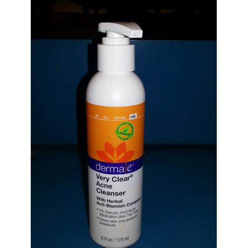 Derma E Very Clear Cleanser - 6 Fl Oz