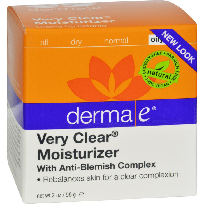 Derma E Very Clear Problem Skin Moisturizer - 2 Fl Oz