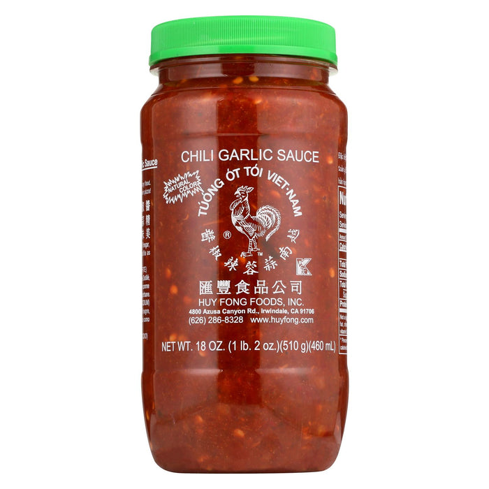 Huy Fong Sauce - Case Of 12 - 18 Oz.