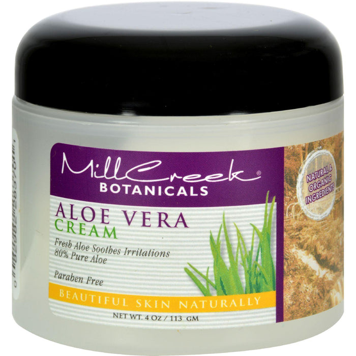 Mill Creek Aloe Vera Cream - 4 Oz
