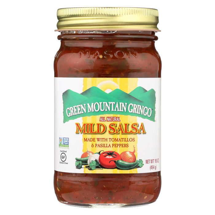 Green Mountain Gringo Mild Salsa - Case Of 12 - 16 Oz.