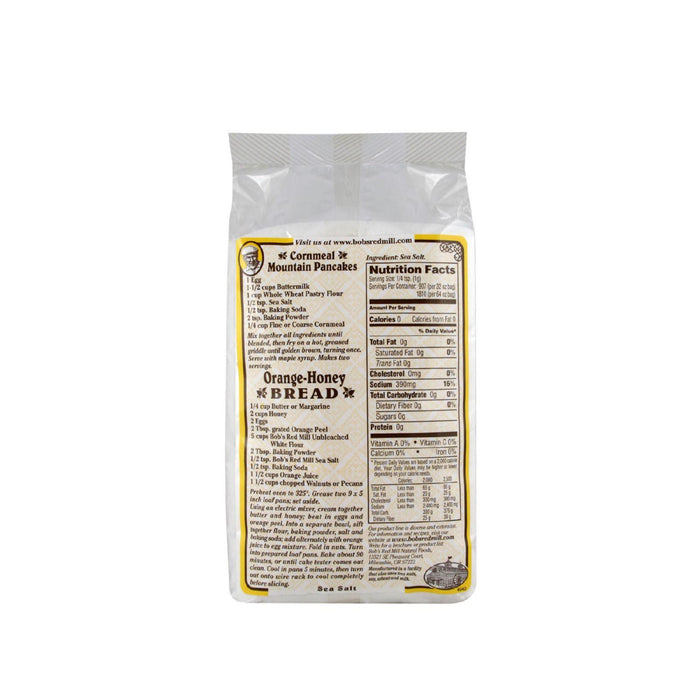 Bob's Red Mill Sea Salt - 2 Lb - Case Of 4