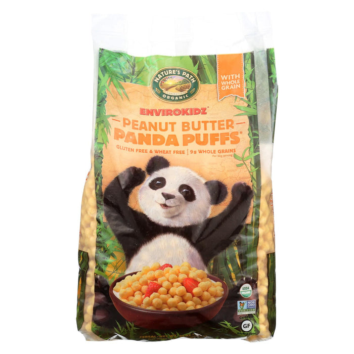 Envirokidz Panda Puffs Cereal - Peanut Butter - Case Of 6 - 24.7 Oz.