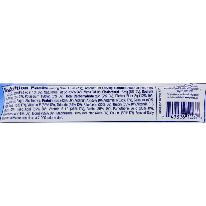 Pure Protein Bar - Chocolate Deluxe - Case Of 12 - 78 Grams