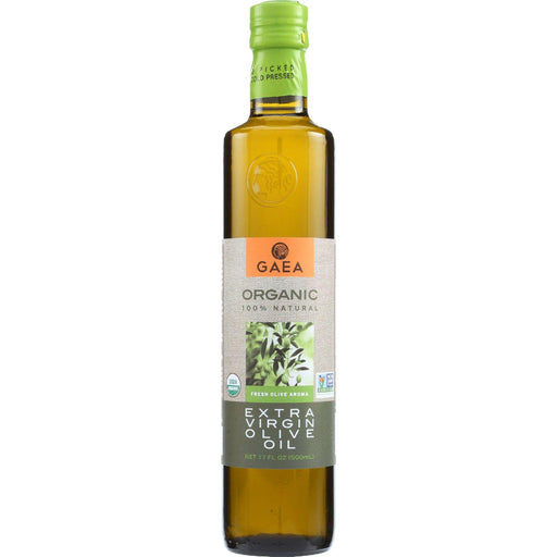 Gaea Olive Oil - Organic - Extra Virgin - 17 Oz - Case Of 6