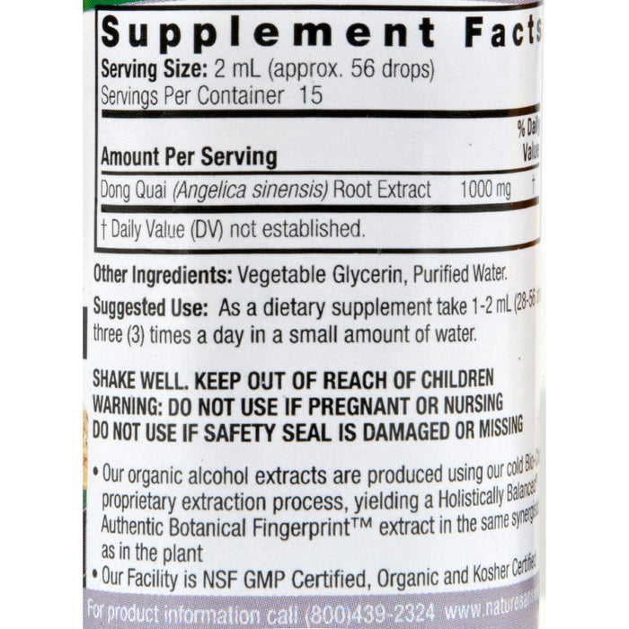 Nature's Answer Dong Quai Root Alcohol Free - 1 Fl Oz