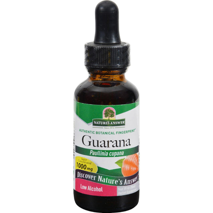 Nature's Answer Guarana Seed - 1 Fl Oz