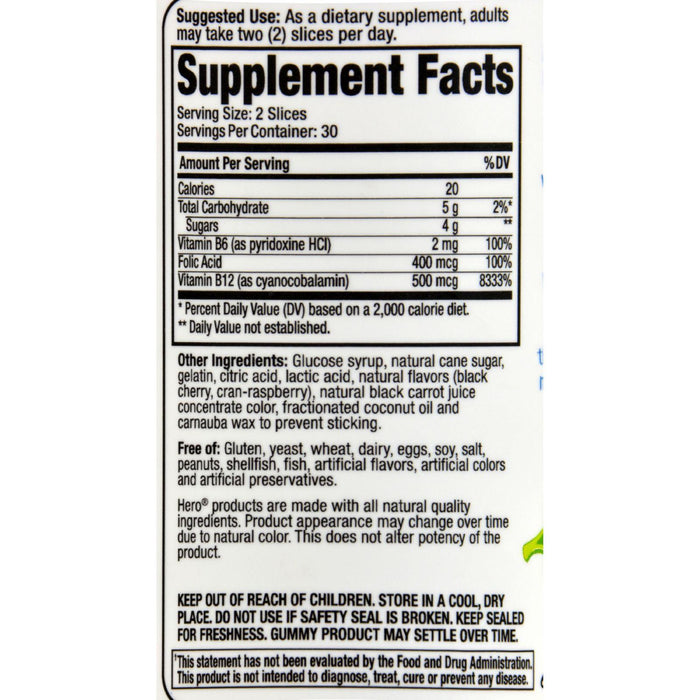 Hero Nutritional Products Slice Of Life Energy Boost - 60 Pack