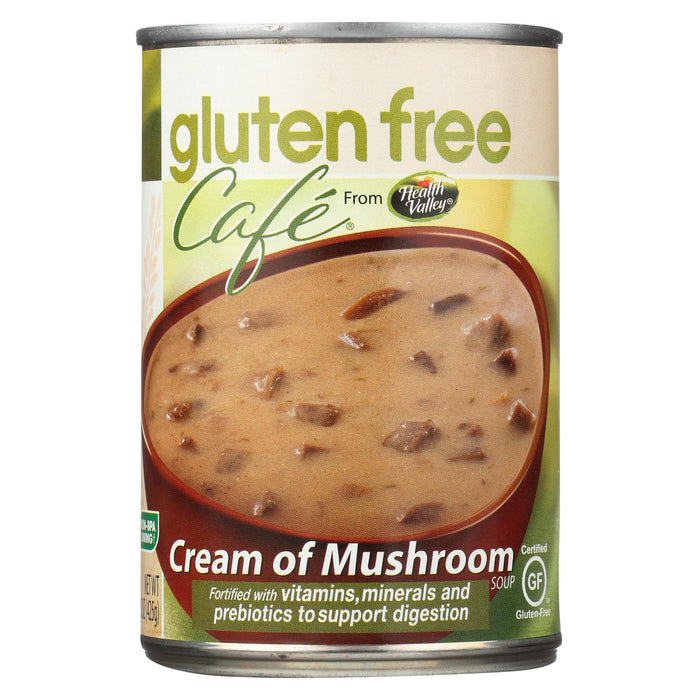 Gluten Free Caf Mushroom Soup - Case Of 12 - 15 Oz.