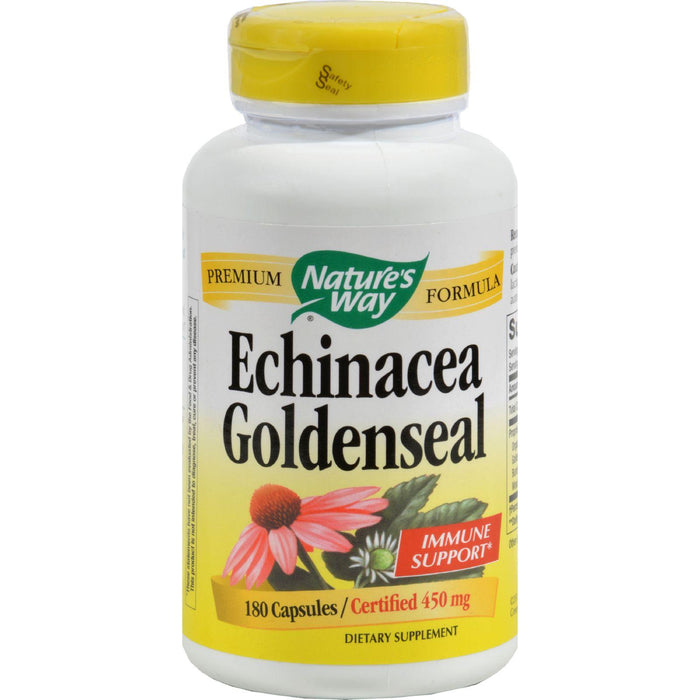 Nature's Way Echinacea Goldenseal - 180 Capsules