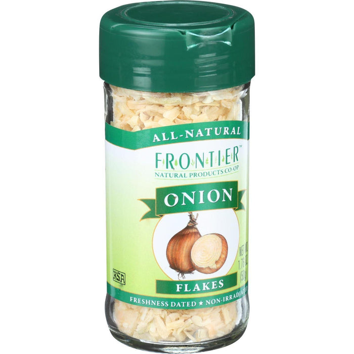Frontier Herb Onion - Flakes - White - 1.76 Oz