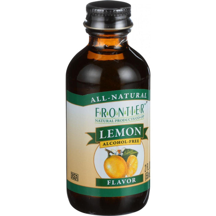 Frontier Herb Lemon Flavor -2 Oz