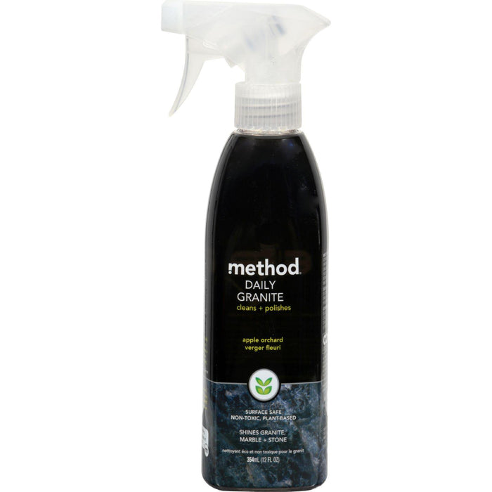 Method Granite And Marble Cleaner Spray - 12 Oz - Case Of 6